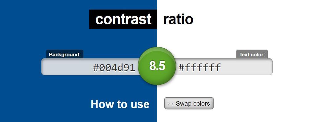 contrast-ratio von Lea Verou